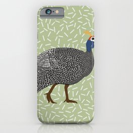 Guinea Fowl  iPhone Case