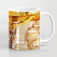 jesus Mugs featuring Jesus by Joe Ganech