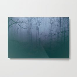 Dense Fog Metal Print