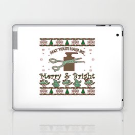 New Hair Stylist Christmas Laptop & iPad Skin