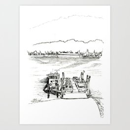 Anderson Ferry Art Print