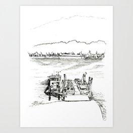Anderson Ferry Art Print