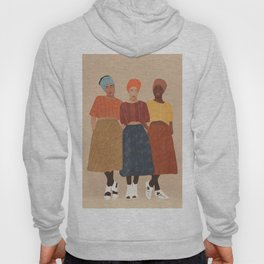 Women with the Turbans II Hoody