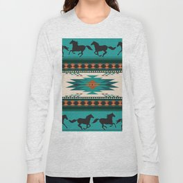 American Native Pattern No. 156 Long Sleeve T-shirt
