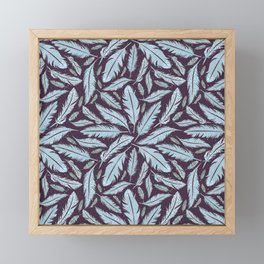 Magic Night Feathers Framed Mini Art Print