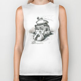 Coffee House Biker Tank