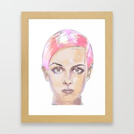Girl Sketch 1 Framed Art Print