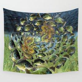 Bluegill Dragons Wall Tapestry