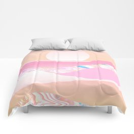 Sunrise Swirls Comforters