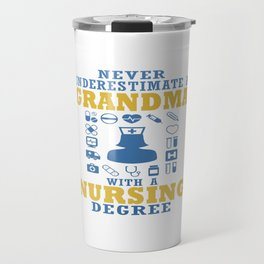 Nursing Grandma Travel Mug