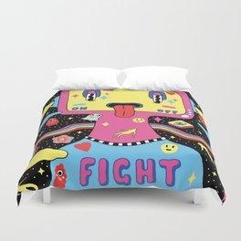 Fight Depression Duvet Cover