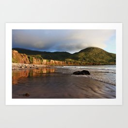 Seaside Reflections, County Kerry, Ireland Art Print
