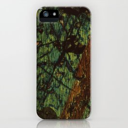 Pyroxene and Feldspar iPhone Case