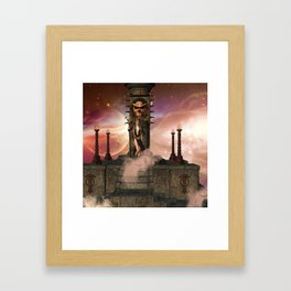 The  Totem place Framed Art Print