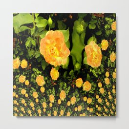 A rose is a rose is a rose.... Metal Print