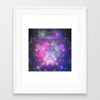 universe Framed Art Prints featuring Universe by haroulita