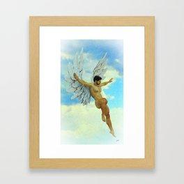 Archangel Uriel Framed Art Print