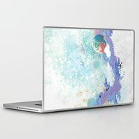 snail Laptop & iPad Skins featuring Snail by ARTION