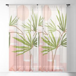 Summer in Belize Sheer Curtain