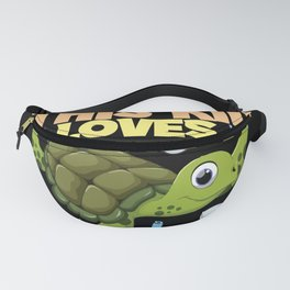 Cartoon Baby Turtles Kids Outfit Fanny Pack