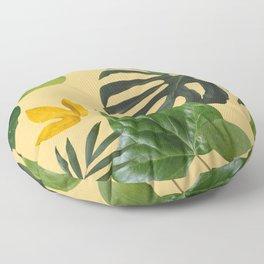 Palm Leaf Pattern Floor Pillow