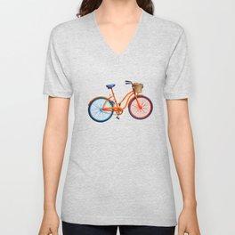 Old bicycle Unisex V-Neck