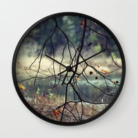 naked Wall Clocks featuring Naked by BURNEDINTOMYHE∆RT♥