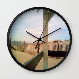 14th Street Pavilion, Seaside Beach New Jersey Wall Clock
