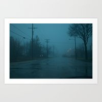 silent hill Art Prints featuring Silent Hill Mornings by Elis Ramos-Garcia