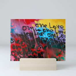 Color Me In Love Mini Art Print