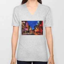 temple bar Unisex V-Neck
