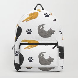 Liquid Cats (Pattern) Backpack