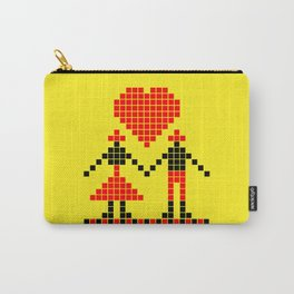 #032 best boy and girl friends Carry-All Pouch