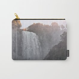 Panoramic view of the Marmore falls, Umbria, Italy Carry-All Pouch