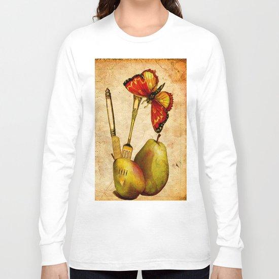 La  collation du Papillon  Long Sleeve T-shirt