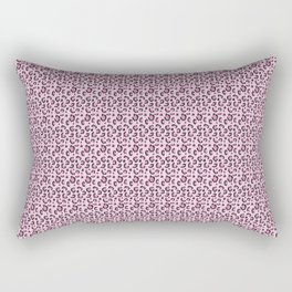 Cheetah print pink Rectangular Pillow