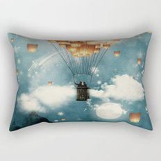 Where all the wishes come true Rectangular Pillow