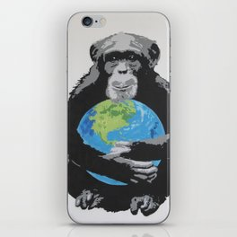Protect the worl iPhone Skin