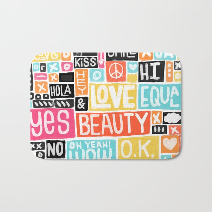 Build something good Bath Mat