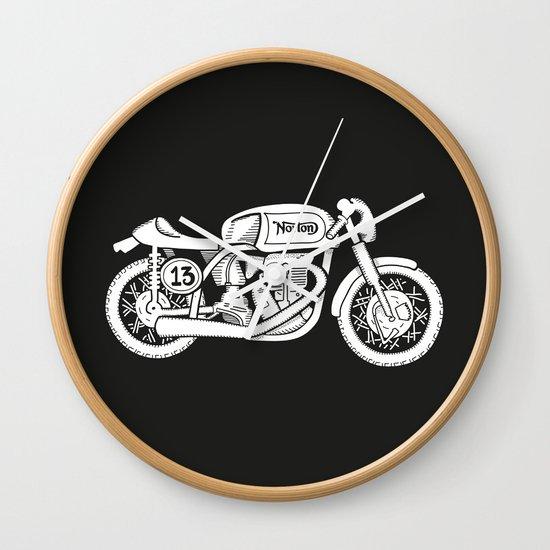 Norton Model 30 - Cafe Racer series #2 Wall Clock