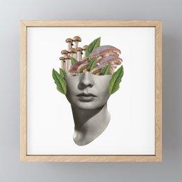 Fungi Lady Framed Mini Art Print