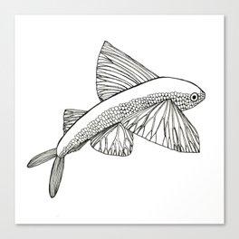 Flying Fish Canvas Print