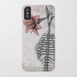 Amaryllis Brasiliensis iPhone Case