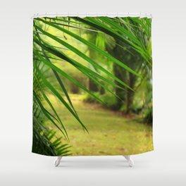 Footpath Shower Curtain
