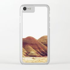 Oregon Painted Hills Clear iPhone Case