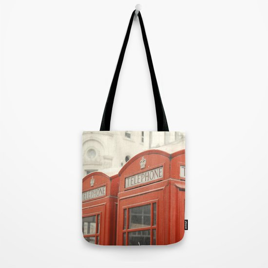 Telephone - London Photography Tote Bag