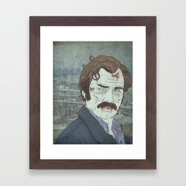 Killed the Irishman Framed Art Print