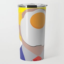 Egg On Your Face Trump Travel Mug