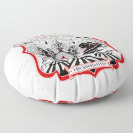 The Night Circus - light Floor Pillow