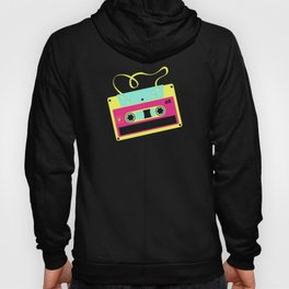 Retro Cassette Mixtape Shirt Disco 90s 80s Party Hoody